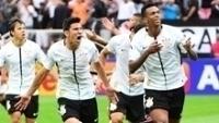 Jô comemora Corinthians x São Paulo 23/04/2017