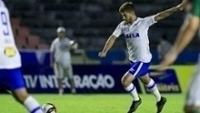 Lucas Silva durante jogo do Cruzeiro contra o Uberlândia