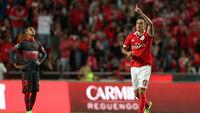 Jonas voltou a brilhar pelo Benfica nesse início de temporada