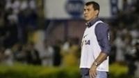 O técnico Fábio Carille elogiou a linha ofensiva do Corinthians