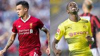 Coutinho e Dembélé são alvos do Barcelona