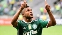 Borja Comemora seu primeiro gol pelo Palmeiras