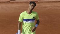 Rogerinho, durante o torneio de Roland Garros
