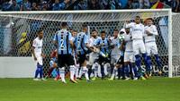 Cruzeiro perdeu por 1 a 0 em Porto Alegre