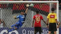 Jailson ganhou elogios após mais uma partida sem derrota no Brasileiro