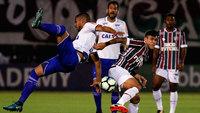 Fluminense e Cruzeiro ficaram no empate nesta quinta-feira