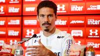 Hernanes voltou ao São Paulo depois de sete anos
