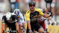 Dylan Groenewegen venceu a última etapa do Tour de France