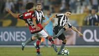Botafogo e Flamengo ficaram no 0 a 0 no Maracanã