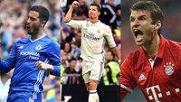 Os clássicos do Campeonato Ingês, Espanhol e Alemão já têm data marcada
