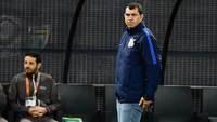 Fábio Carille, na vitória do Corinthians sobre o Sport na Arena