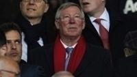 Alex Ferguson acompanha jogo do Manchester United no Old Trafford