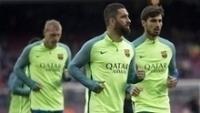 Turan (certo) treina pelo Barcelona