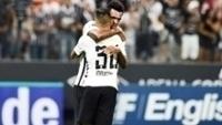 Jô Maycon Comemoram Gol Corinthians Red Bull Brasil Campeonato Paulista 22/02/2017