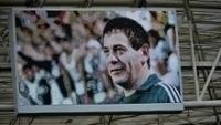 Fundador da Mancha Verde, Moarcir Bianchi foi homenageado em jogo do Palmeiras