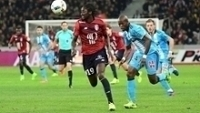 Éder, do Lille, em partida contra o Olympique de Marselha