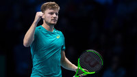David Goffin triunfou por 2 sets a 0
