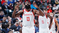 James Harden comandou vitória do Houston Rockets sobre o Indiana Pacers na NBA