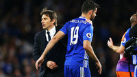 Diego Costa Antonio Conte Chelsea Manchester City Premier League 05/04/2017