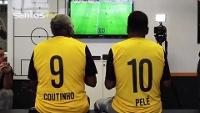 Pelé Coutinho Fifa 15 Videogame SantosTV