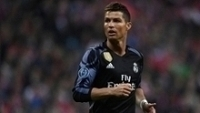 Cristiano Ronaldo, na vitória do Real Madrid sobre o Bayern de Munique na Champions League