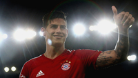 James Rodríguez deixou o Real Madrid pelo Bayern de Munique