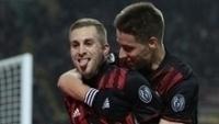 Deulofeu, o 'Messi destro', garantiu a vitória do Milan contra a Fiorentina