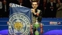 Mark Selby, tricampeão mundial de sinuca, é torcedor fanático do Leicester