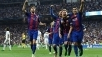 Barcelona conseguiu vitória por 3 a 2 ante o Real e vem de goleada contra o Osasuna