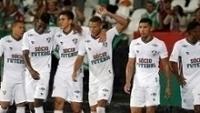 Richarlison (centro) brilhou na vitória do Fluminense