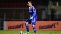 O goleiro Fernando Prass admitiu ter falhado no 1º gol do São Paulo