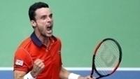 Bautista vibra com vitória na Copa Davis
