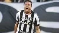Dudu Cearense comemora seu gol pelo Botafogo: dinheiro da Caixa liberado