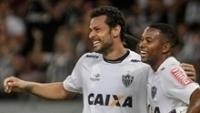 Robinho voltou a jogar após lesão na coluna