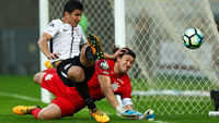 Balbuena fez o gol da vitória do Corinthians sobre o Flu