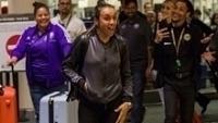 Atacante Marta se surpreende com a recepção na chegada a Orlando