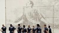 Jogadores do Corinthians participam de treino no CT Joaquim Grava