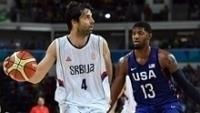 Teodosic levou a Sérvia à final da Olimpíada e enfrentou os Estados Unidos