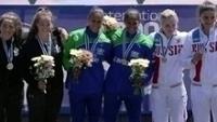 Andrea Oliveira e Angela Aparecida ganharam o ouro na Copa do Mundo