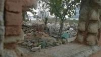 Área onde vivia a comunidade está com escombros