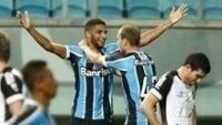 Lucas Rex marcou o seu primeiro gol com a camisa do Grêmio