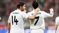 Xabi Alonso Cristiano Ronaldo Real Madrid Bayern Champions 29/04/2014