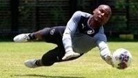 Jefferson treinando pelo Botafogo
