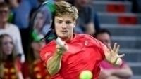 David Goffin venceu a partida que confirmou a classificação belga