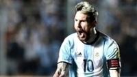 Messi marcou um golaço e deu o passe para outro na vitória da Argentina