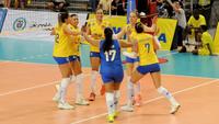 Brasil está no Mundial feminino de vôlei