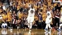 Da defesa ao ataque, Draymond Green brilhou na vitória dos Warriors no jogo 1 dos playoffs