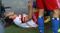 Nicolai Müller rompeu o ligamento anterior do joelho direito