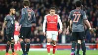 Alexis Sánchez, em ação pelo Arsenal contra o Bayern de Munique