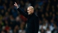 Zidane durante partida do Real Madrid